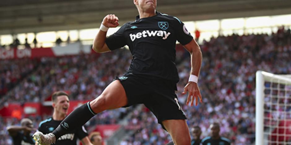 West Ham elogia el potencial goleador del