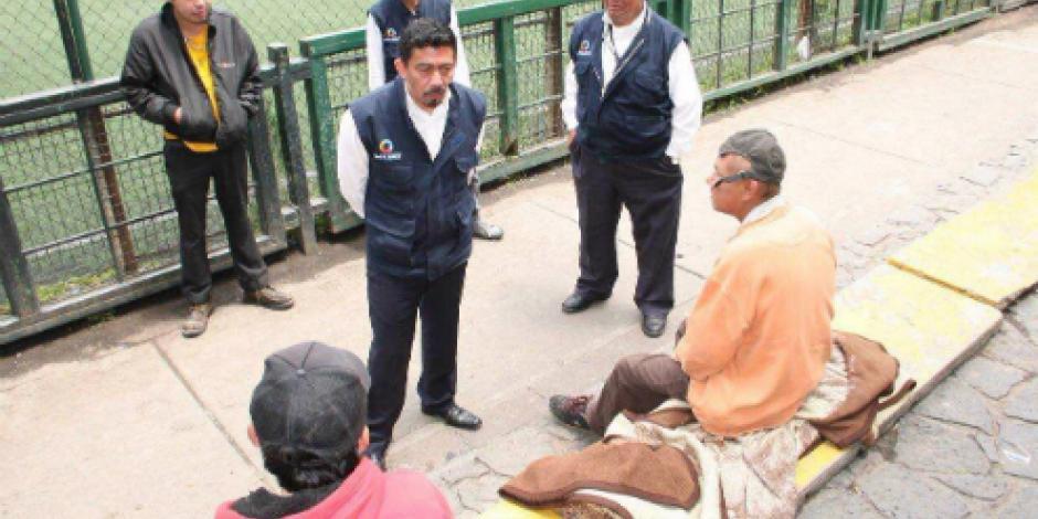 Benito Juárez realiza acciones permanentes para atender a personas en situación de calle