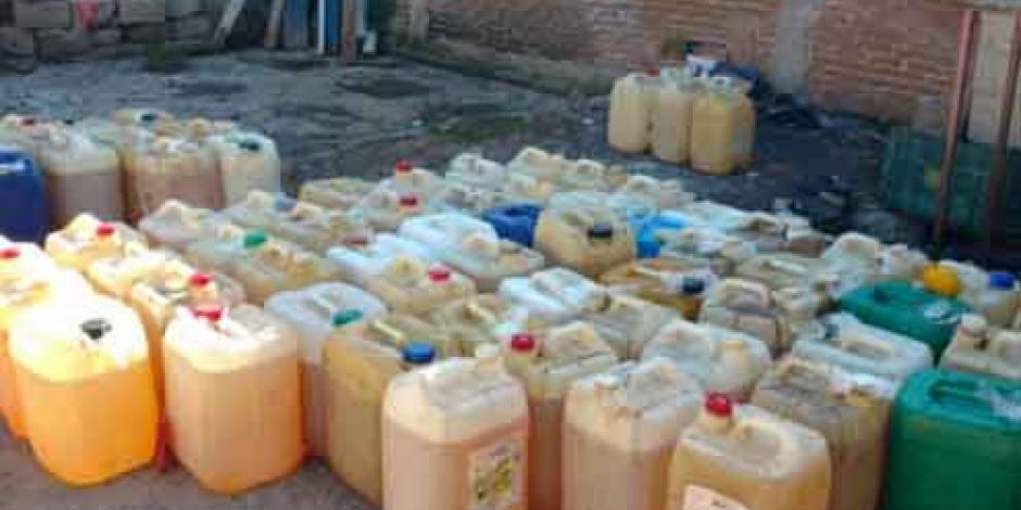 Detienen a ocho huachicoleros en Hidalgo