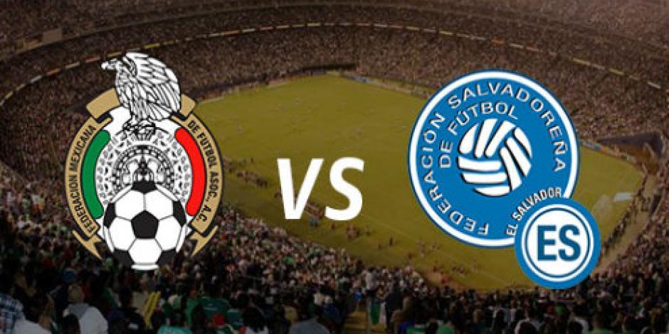 México vence 3-1 a El Salvador en debut de Copa Oro