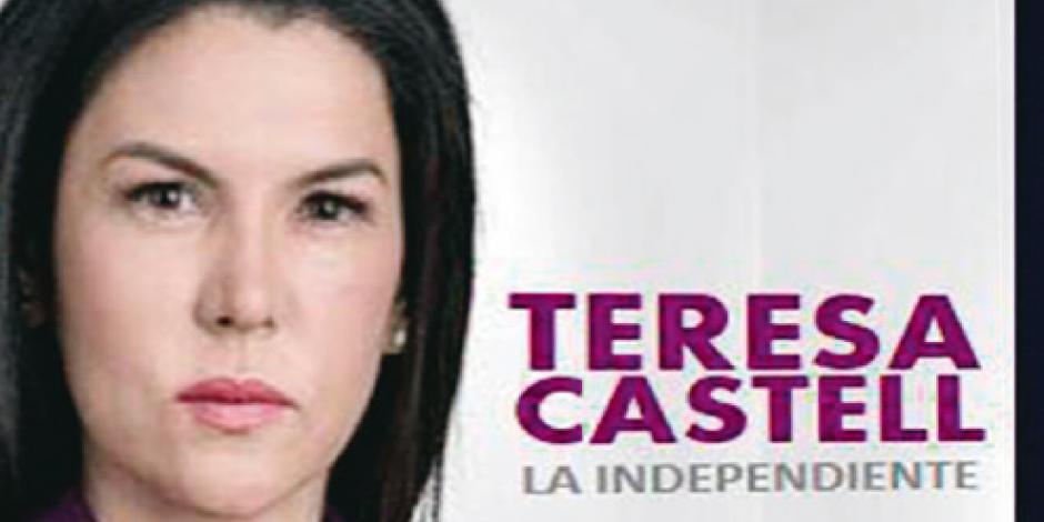 Castell tuvo 2% de votos; ahora ilustra a candidatos