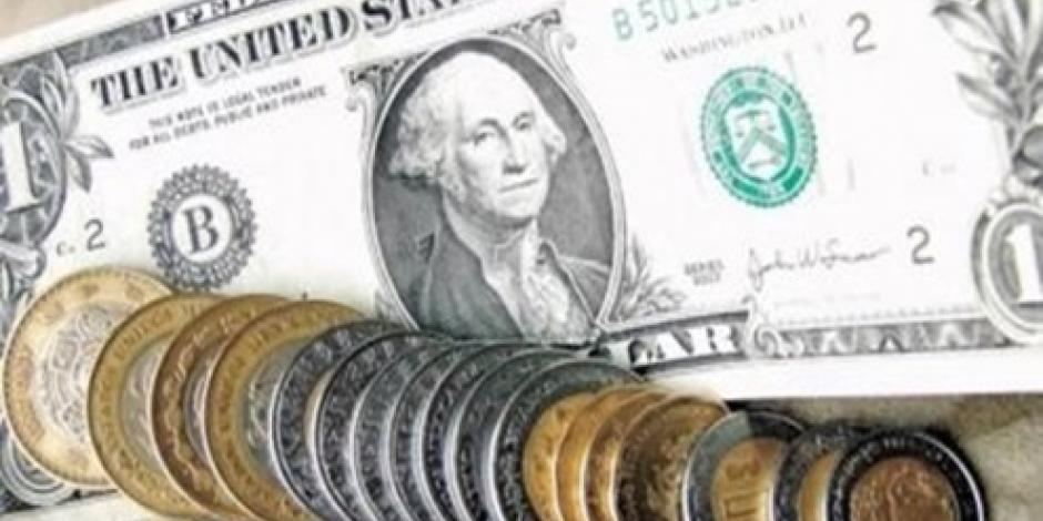 Cotiza el dólar al cierre de la jornada en 17.50 pesos