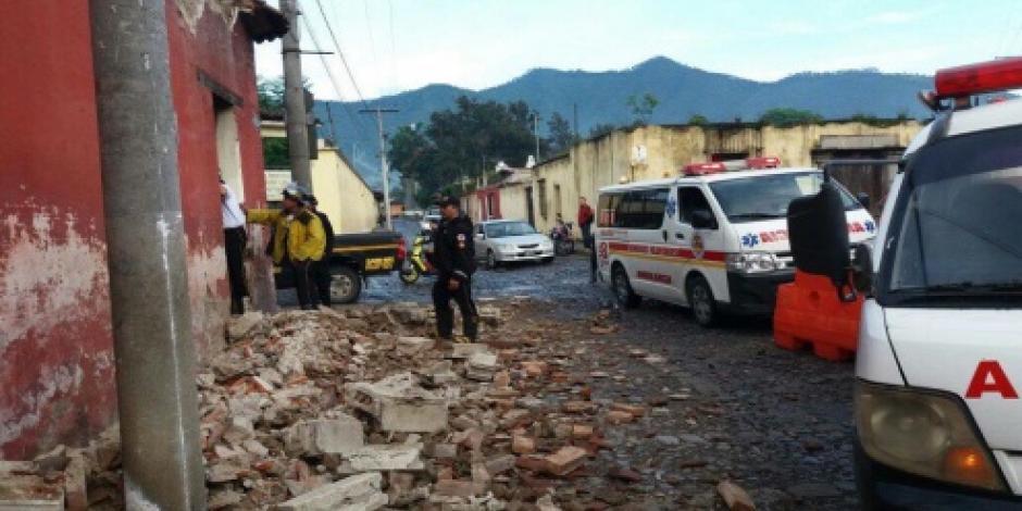 Sismo de magnitud 6.7 en la escala de Richter sacude Guatemala