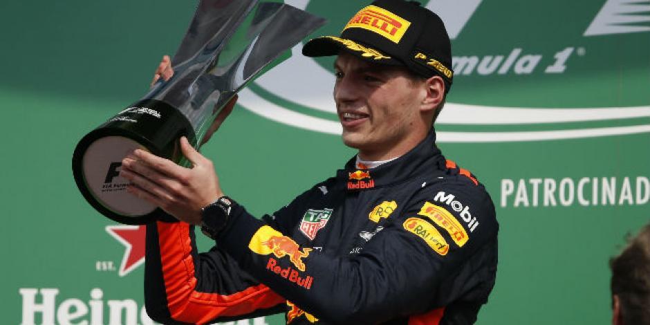 El holandés Max Verstappen se corona en el GP México