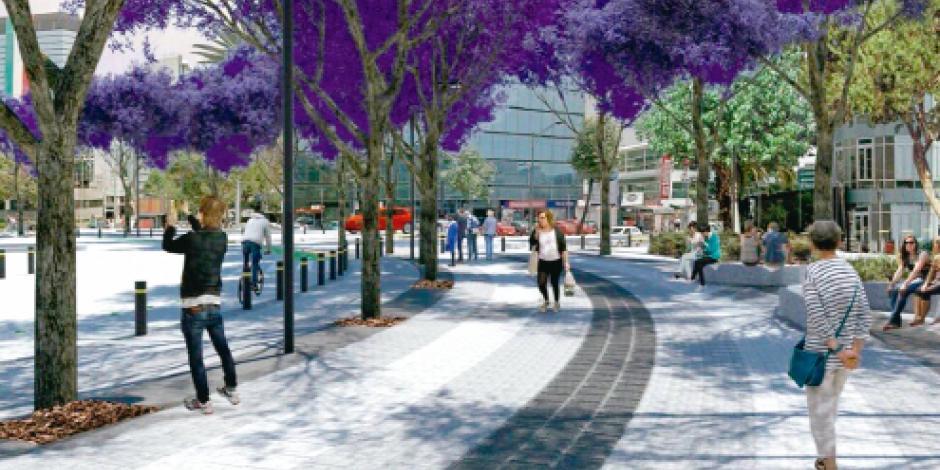 Transforman Plaza Plateros  en área de convivencia social