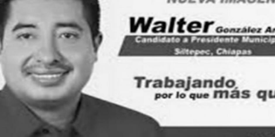 Supuestos transportistas asesinan a excandidato del PRI en Chiapas