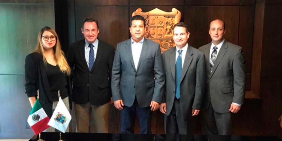 Se reúnen gobernador de Tamaulipas y Cónsul de EU en Matamoros