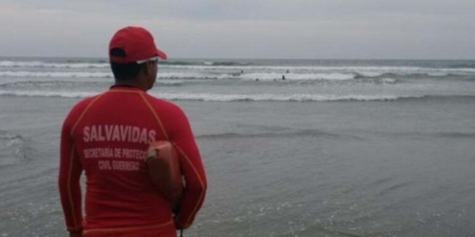 Reporta Protección Civil Guerrero a bañista desaparecido en Acapulco
