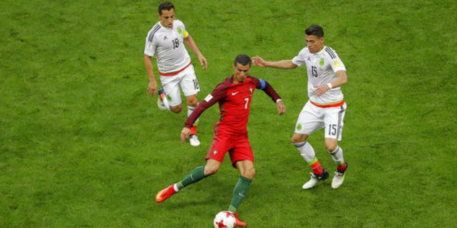 CR7 no brilló pero es el mejor jugador del México-Portugal