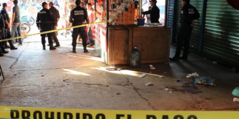 Muere hombre baleado en la Central de Abasto