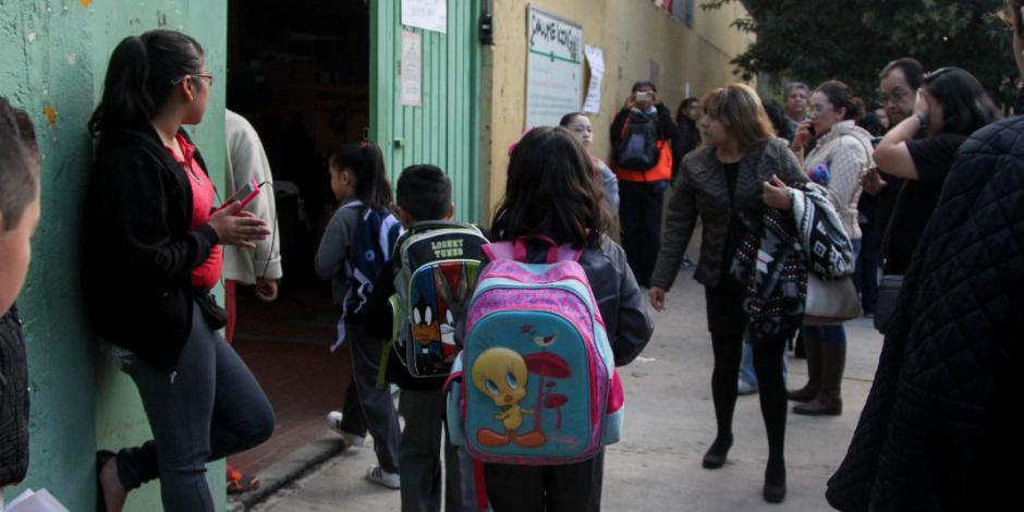 En CDMX, 95% de escuelas operan con normalidad tras sismo