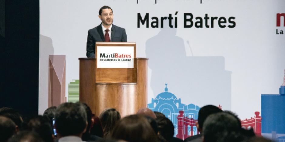 Batres lanza proyecto... sin la plana mayor de Morena