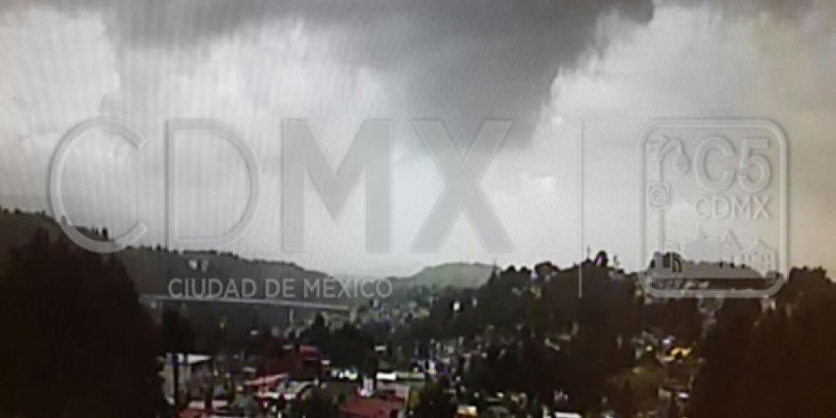 Llueve en 6 delegaciones de la Ciudad de México