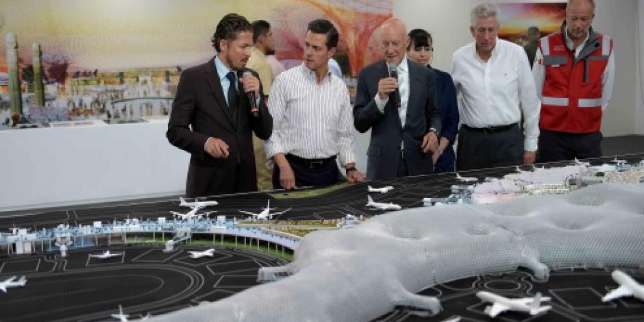 Adjudican licitación para caminos provisionales en nuevo aeropuerto capitalino