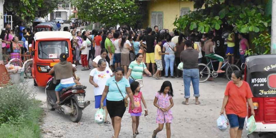 Neza despliega apoyo para sus paisanos en Juchitán