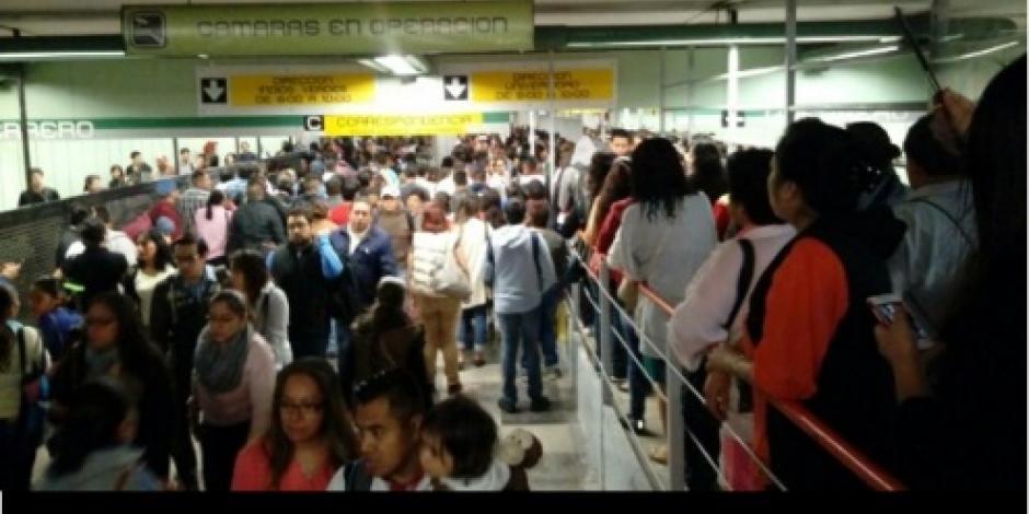 Metro normaliza servicio en Línea 3 tras atender tren averiado