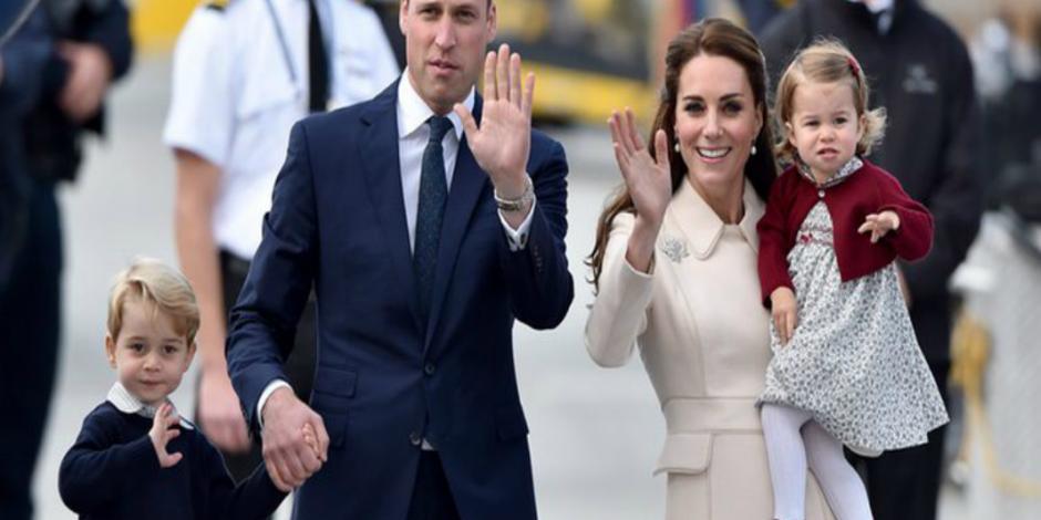 Duques de Cambridge esperan a su tercer bebé real