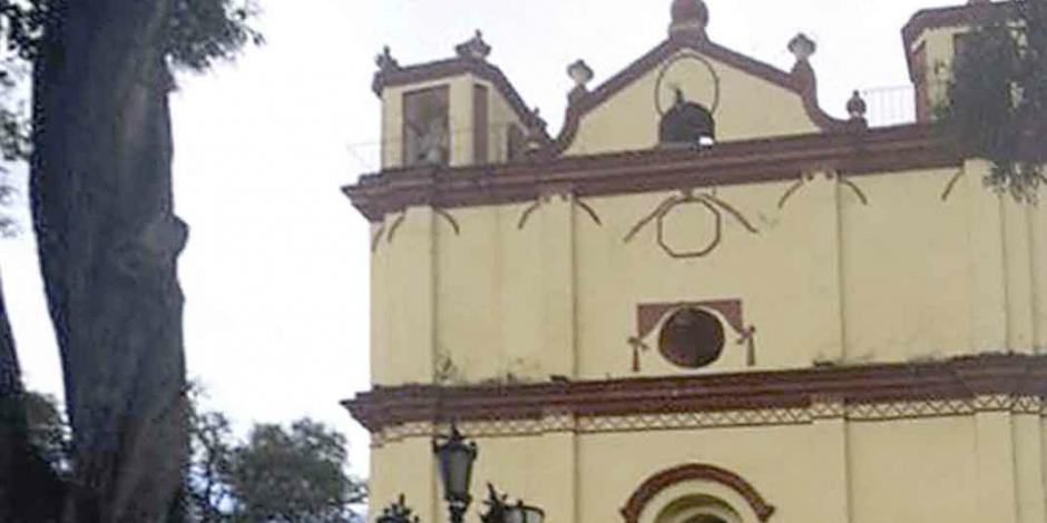 Sismo dañó templos de Chiapas