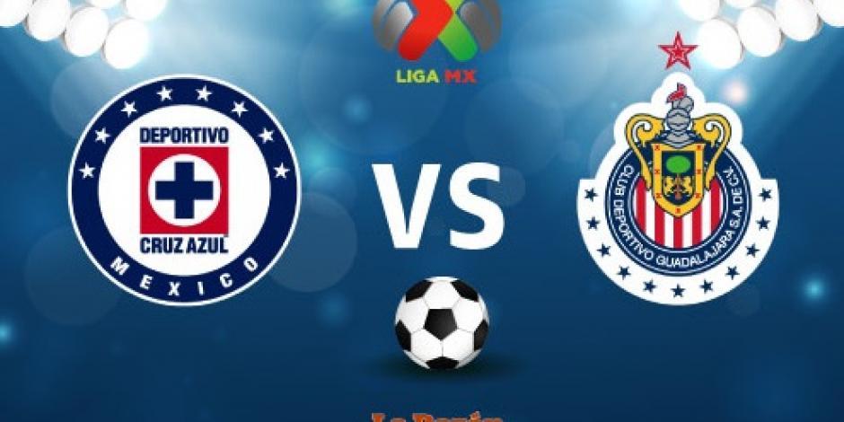 Con gol de Pizarro, Chivas empata a Cruz Azul