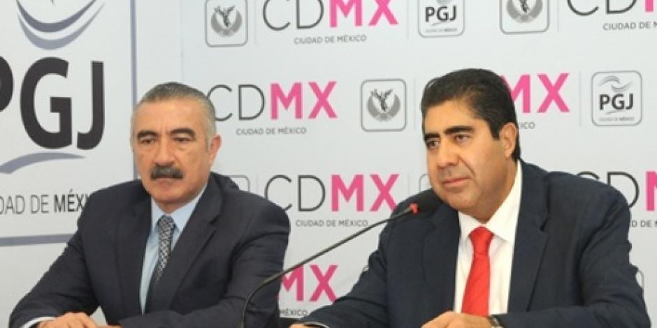 """Captura la PGJ capitalina a dos miembros de """"Los Justicieros"""""""