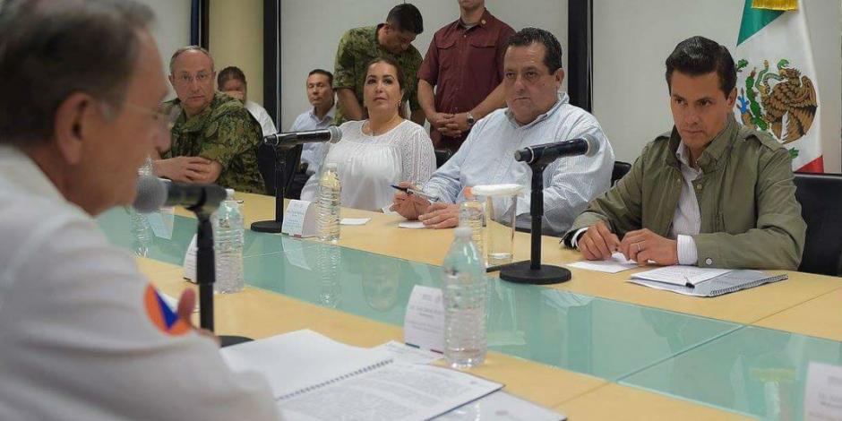 EPN visita y evalúa zonas afectas por <em>Lidia</em> en BCS