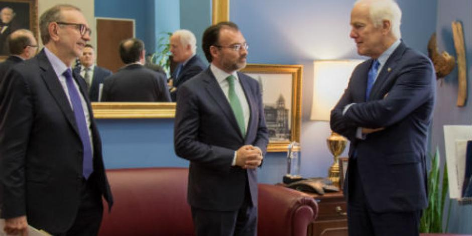 Descartan riesgo a economía mexicana por renegociación de TLCAN