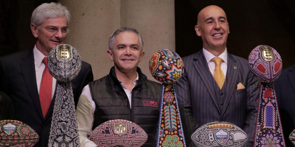 Raiders contra Patriotas será partido histórico en el Azteca: Arturo Olivé
