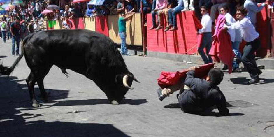 Reportan 4 lesionados en la Huamantlada