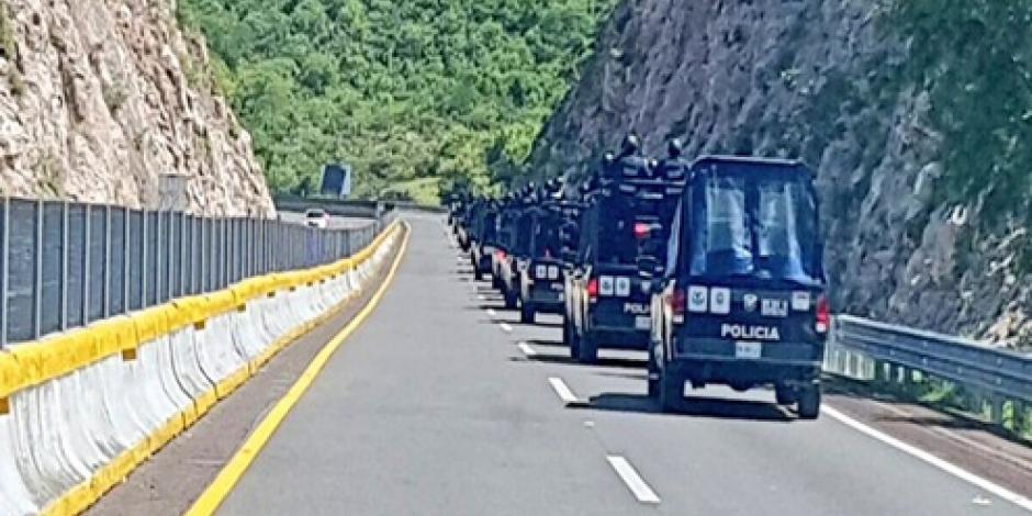 Viajan policías de la Ciudad de México a Guerrero para combatir delincuencia