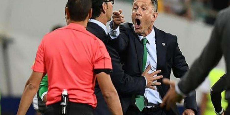 FIFA sanciona a Osorio, lo suspende durante toda la Copa de Oro