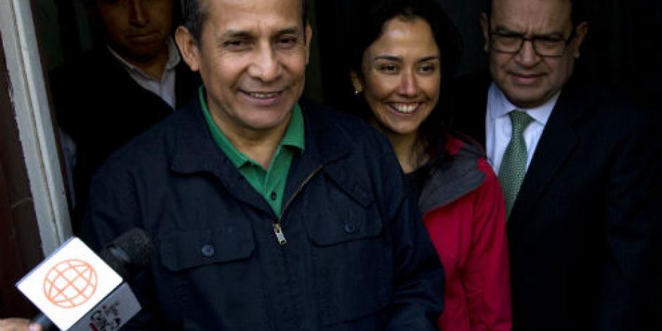 Dictan año y medio de prisión a expresidente peruano y su esposa