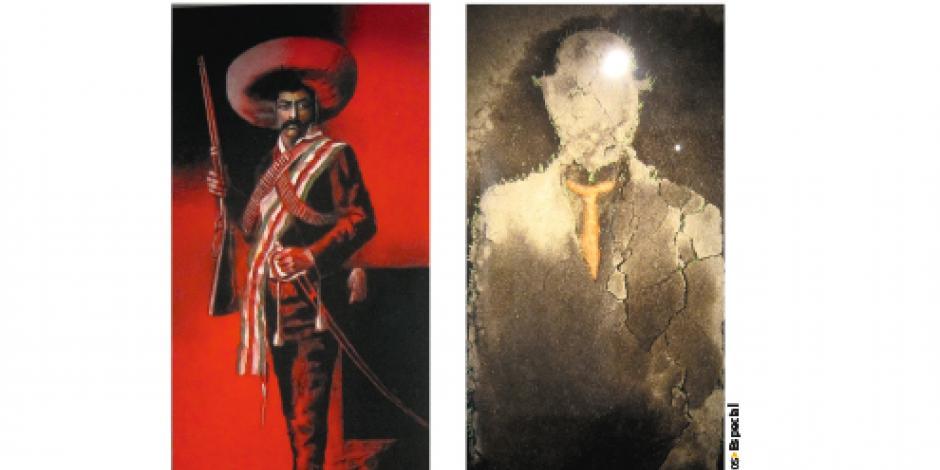 Transfiguran obras de Magritte...