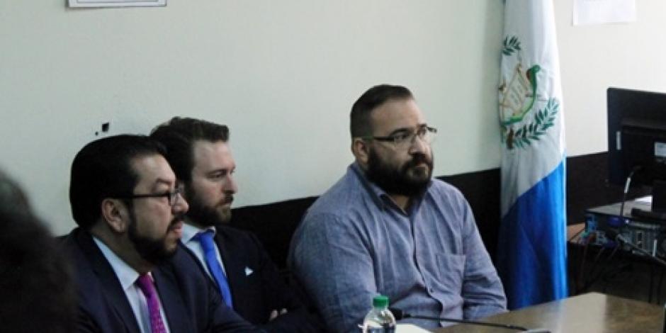 Estima la PGR que Javier Duarte llegará a México en 10 días