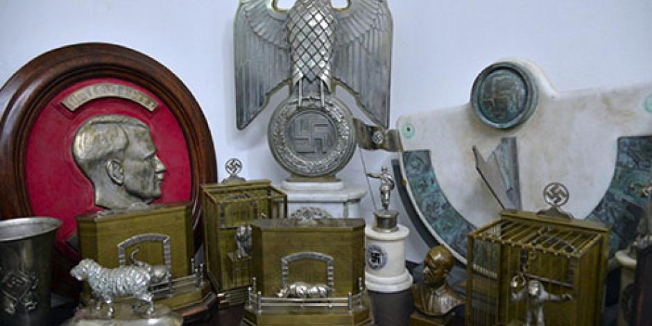 FOTOS: Encuentran la colección de objetos nazis más grande en Argentina