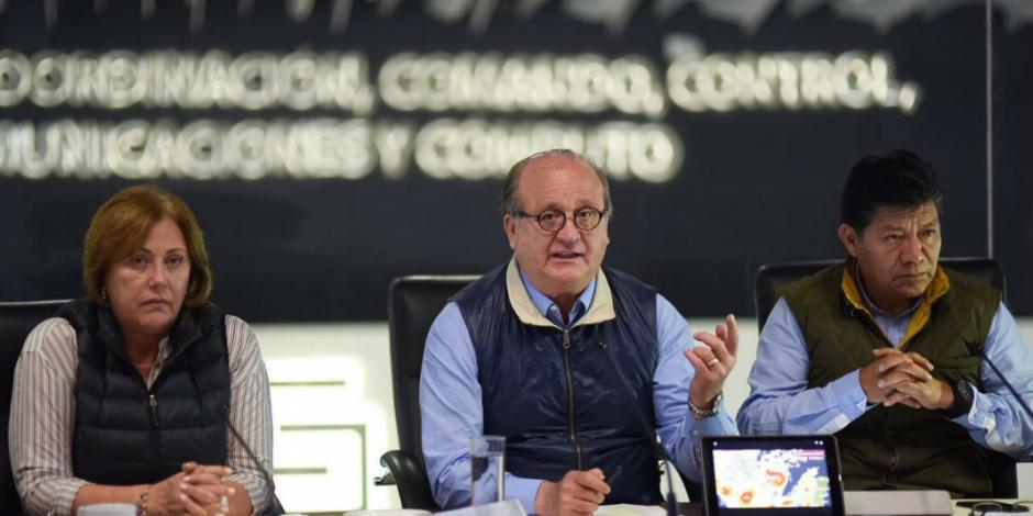 Graco pide no hacer caso a falsas alertas catastróficas tras sismo