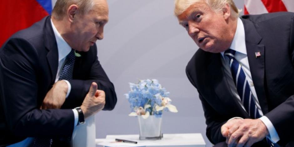 En reunión con Trump, Putin niega su intromisión en elecciones de EU, asegura Tillerson