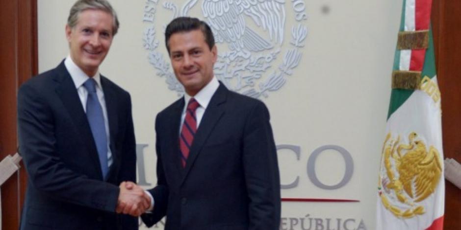 EPN se reúne con gobernadores electos de Edomex y Nayarit