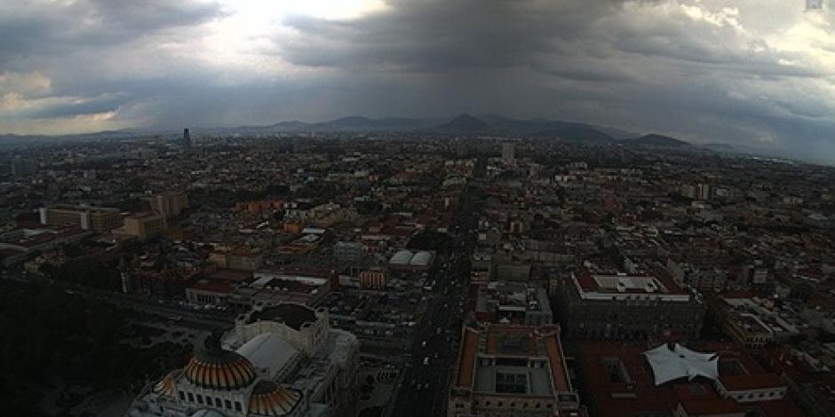 Emiten Alerta Amarilla por lluvia en 6 delegaciones de la Ciudad de México