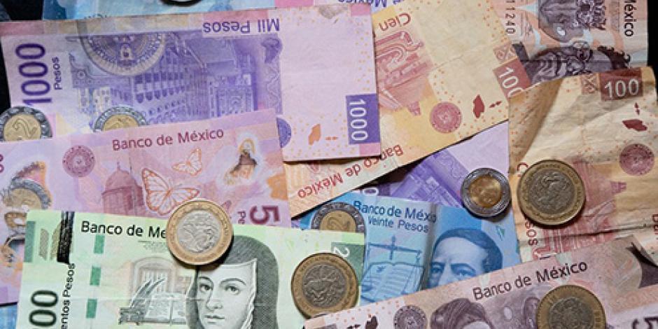 Peso mexicano cierra semana como la divisa más apreciada