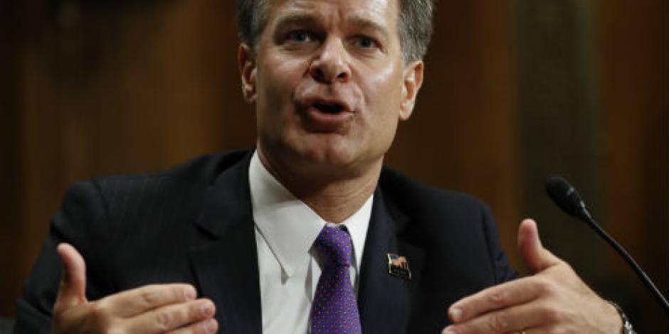 Confirma Senado de EU a Christopher Wray como nuevo director del FBI