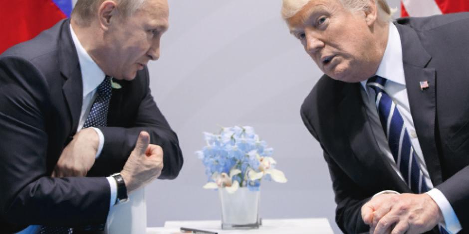 Trump propone a Putin crear oficina para bloquear hackeos