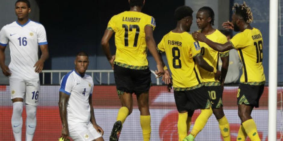 Jamaica derrota 2-0 a Curazao en Copa Oro