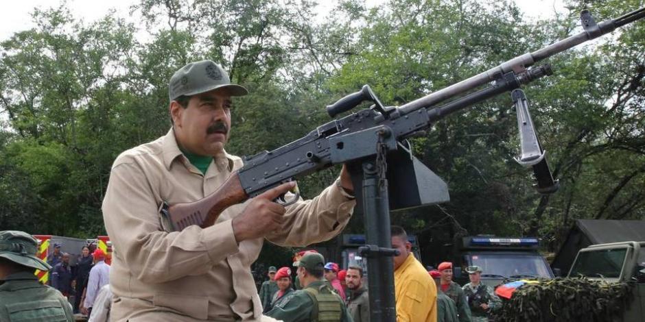Maduro pide a militares