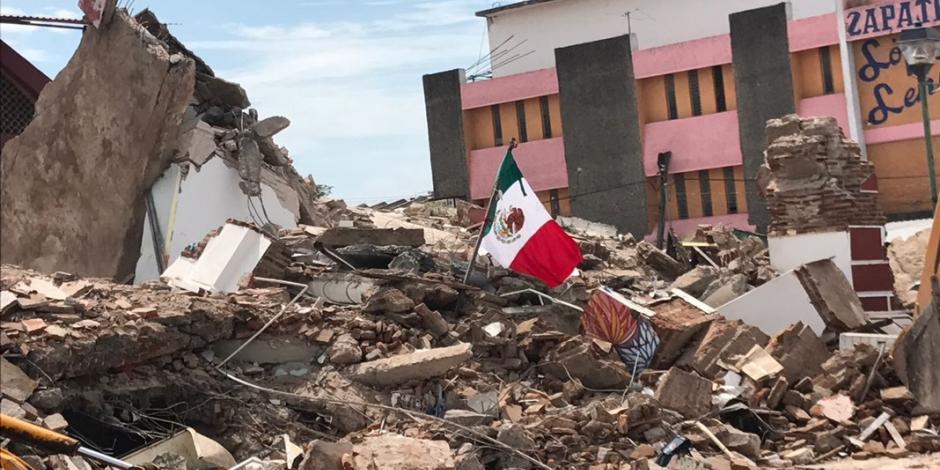 Difunden lista de fallecidos en Juchitán tras sismo