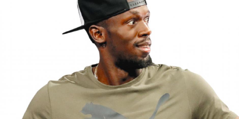 Bolt se va de las pistas y promete la victoria