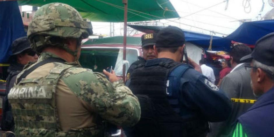 Investiga PGJ CDMX balacera en mercado de Iztapalapa