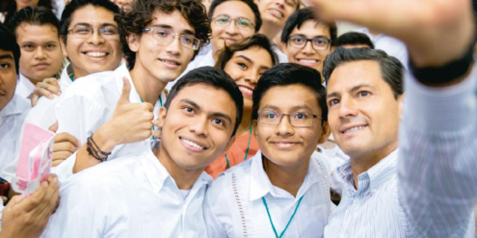 Inaugura EPN  megadrenaje en beneficio de 120 mil en Campeche