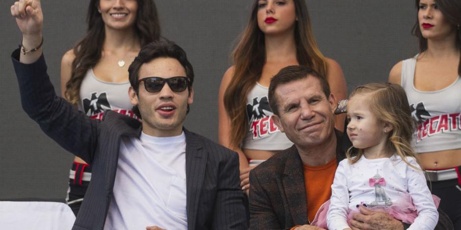 Chávez Jr. critica a su padre por calificar como ganador al <em>Canelo</em>