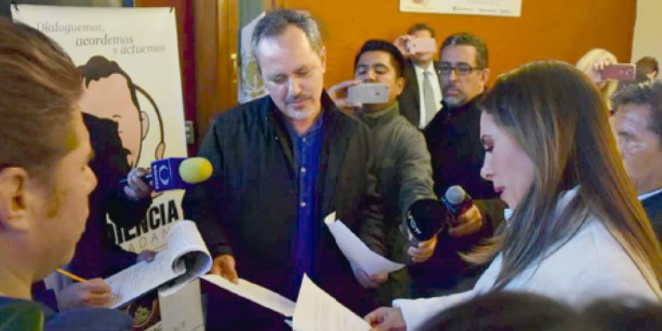 Morena acepta que Salgado  comparezca… en lo oscurito