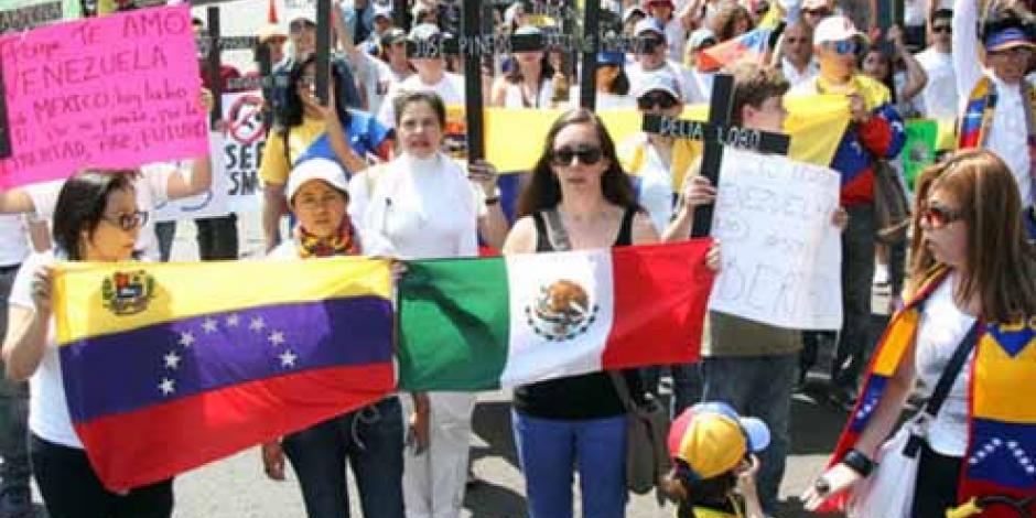 Venezolanos en México decidirán este domingo sobre Constituyente en su país